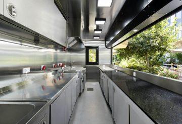 מטבח מכולה נייד עבור חברת Apple
